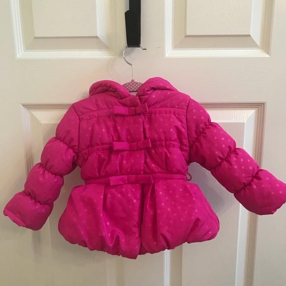d6cf911ee Rothschild Jackets & Coats | Baby Girl Pink Puffer Coat Size 12m ...